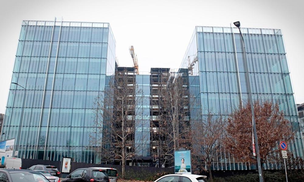 Amazon HQ Milán, Italia. Proyectos de ST-Systemtronic.