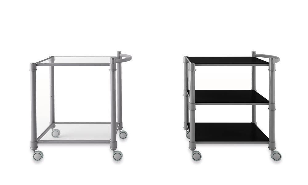 CAM series. Mesas auxiliares para adaptarse a los ambientes