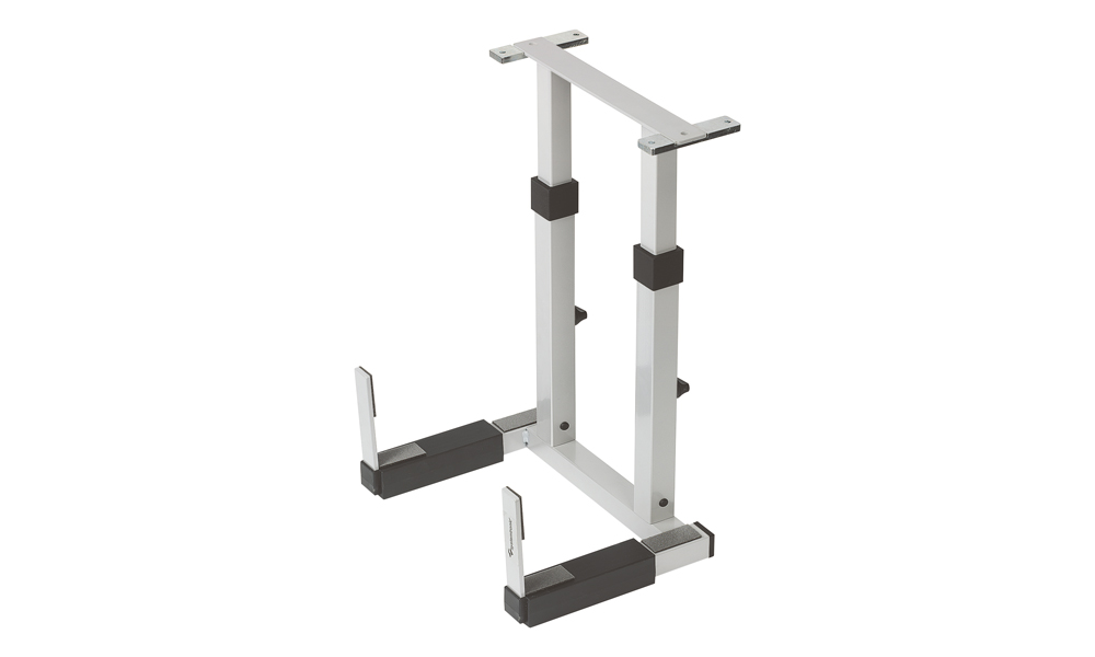 S06. Height- and width-adjustable CPU stand for wooden tables