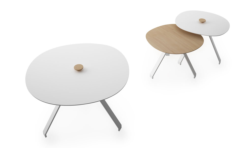 Celes. Set of tables of different heights and board sizes