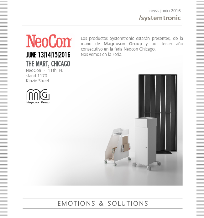 Systemtronic at NeoCon Chicago Fair