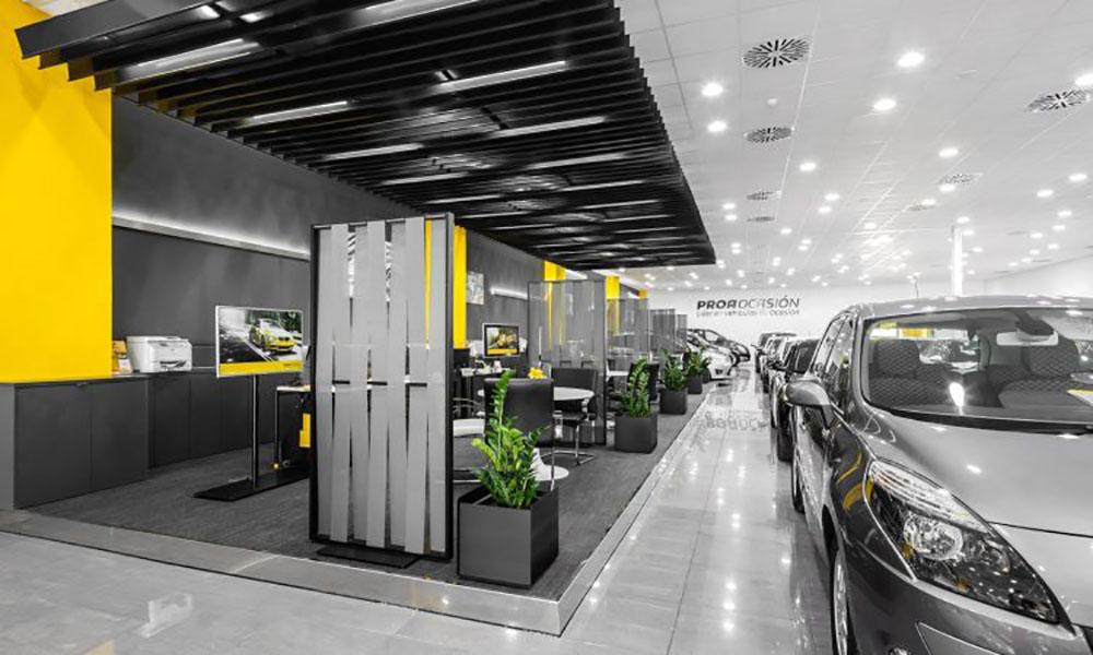 Concesionario Proa, Valencia, España. Proyectos de ST-Systemtronic.