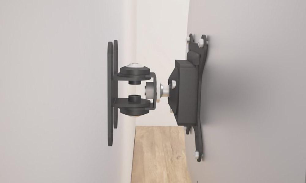 CP10. Soporte para monitor informático a pared con una articulación