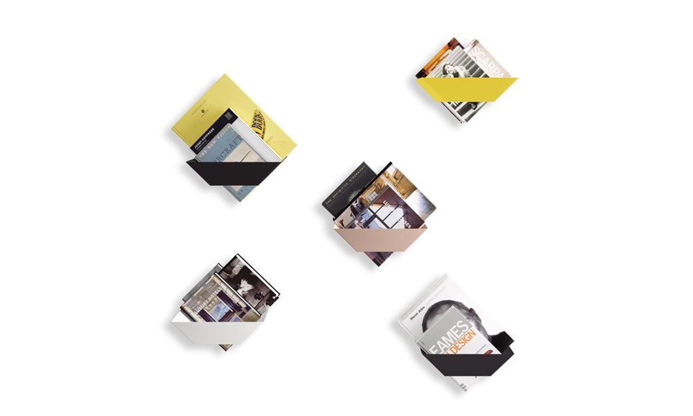 koku. Singular shelves designed for your books or magazines