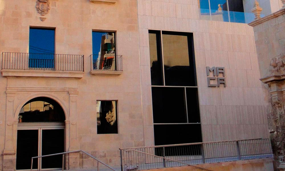 MACA. Museo Arte Contemporáneo Alicante. Proyectos ST-Systemtronic.