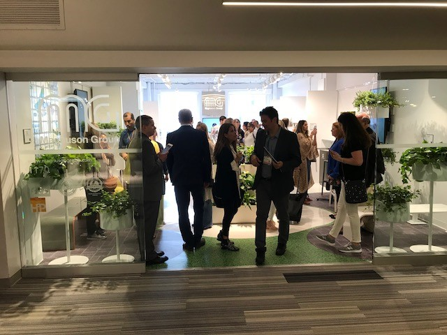 Systemtronic from the hand of Magnuson Group. NeoCon2018.