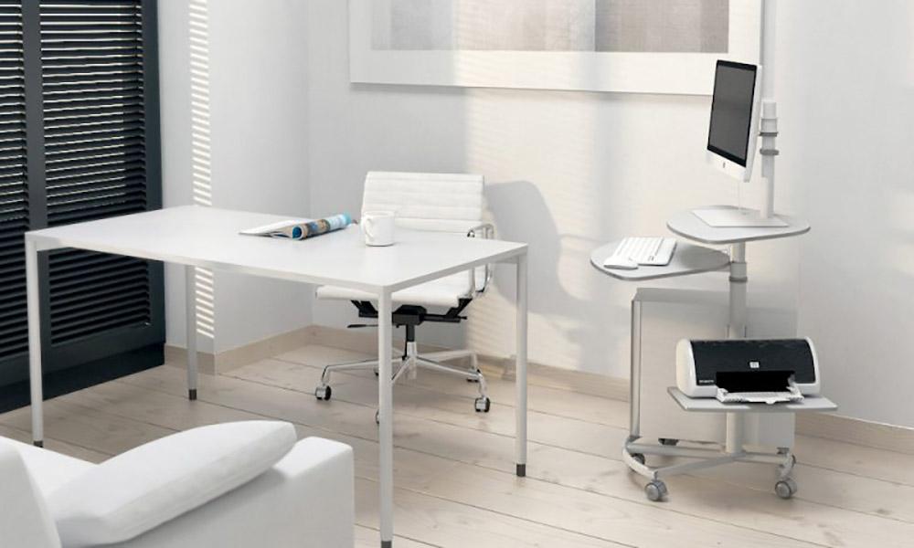MEC series. Mesas de eje central para componentes informáticos