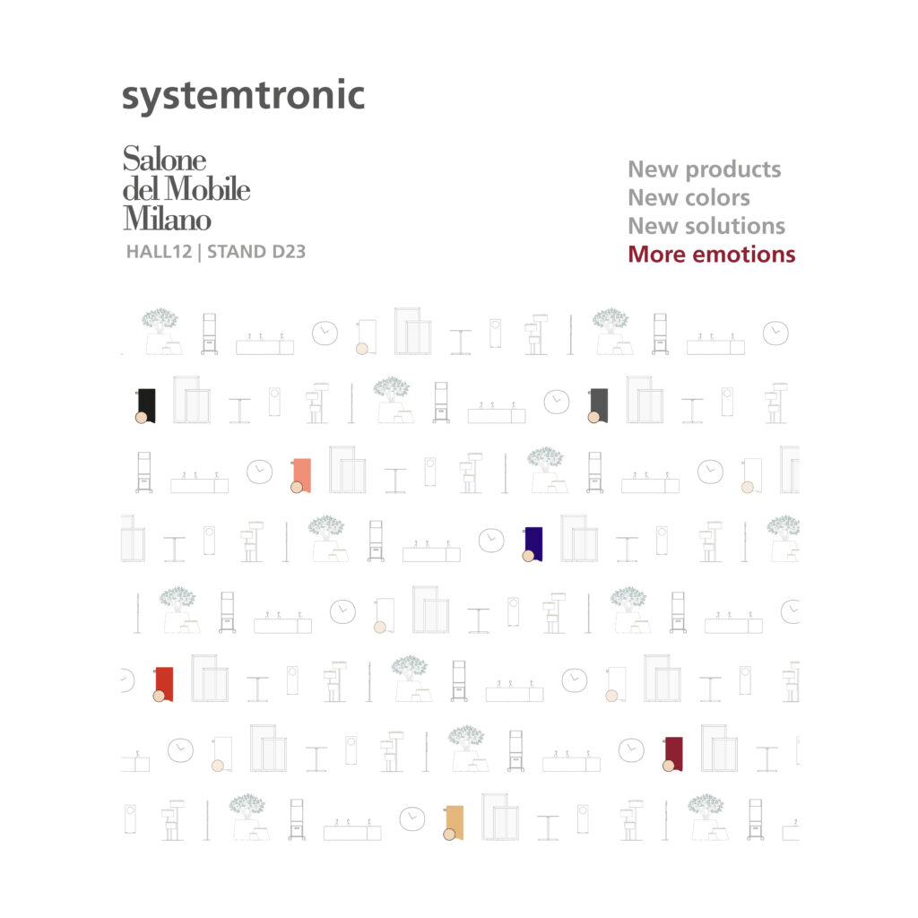 Systemtronic will exhibit at the Salone del Mobile in Milano