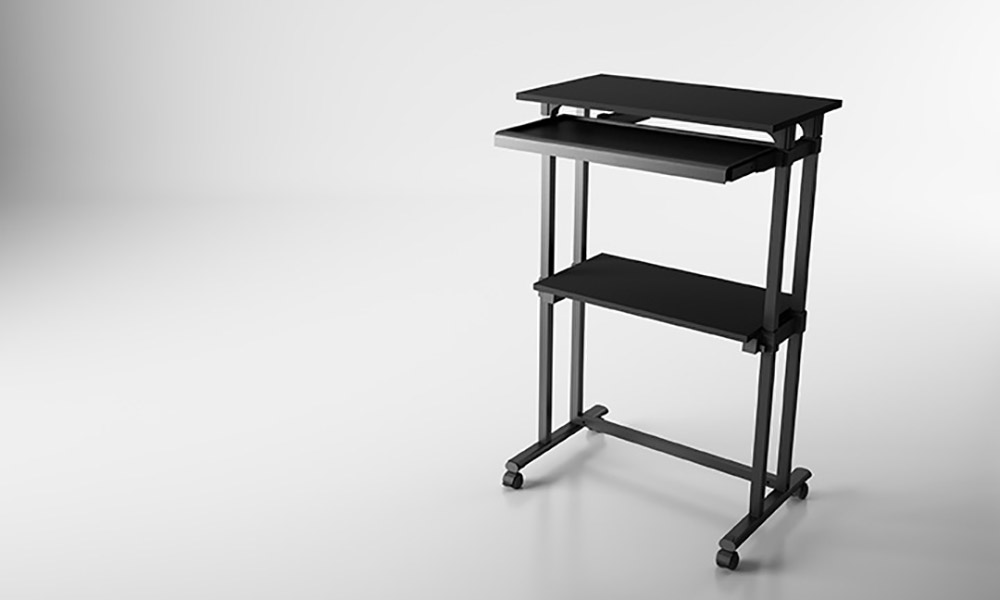 MP series. Serie de mesas auxiliares muy funcionales
