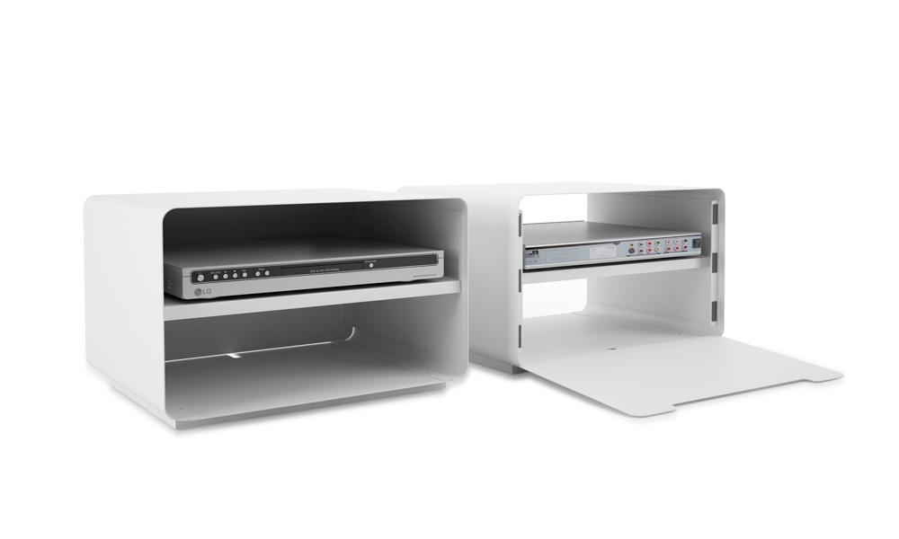 Sitabo. Elegante módulo contenedor para incluir los equipos multimedia