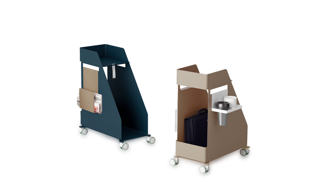 Store. Personal auxiliary furniture, designed to optimize workspaces