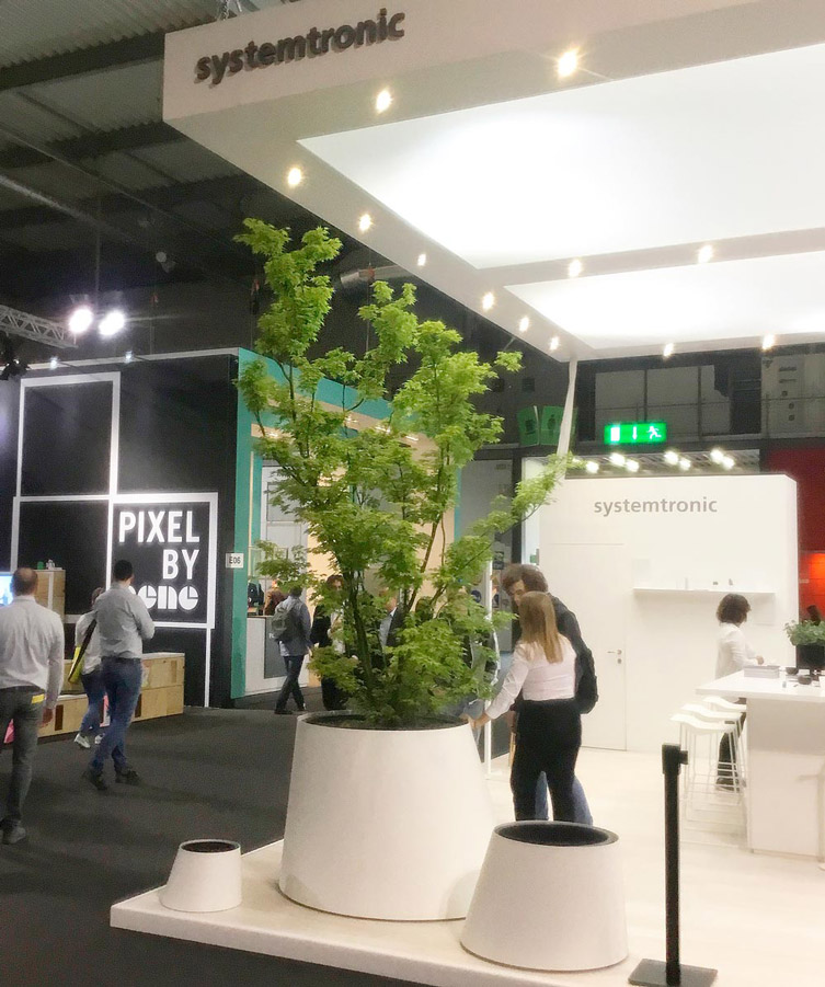 Systemtronic has participated at Salone del Mobile