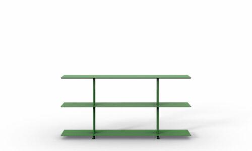 Wing freestanding. Wing es un sistema de estanterías modulares.