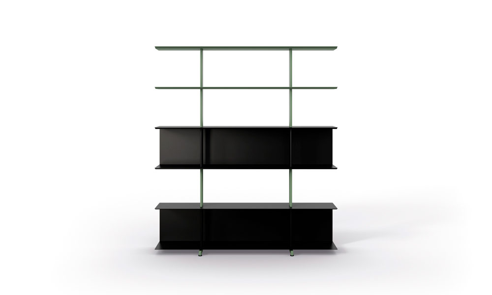 Wing freestanding. The Wing collection is a very versatile wall.
