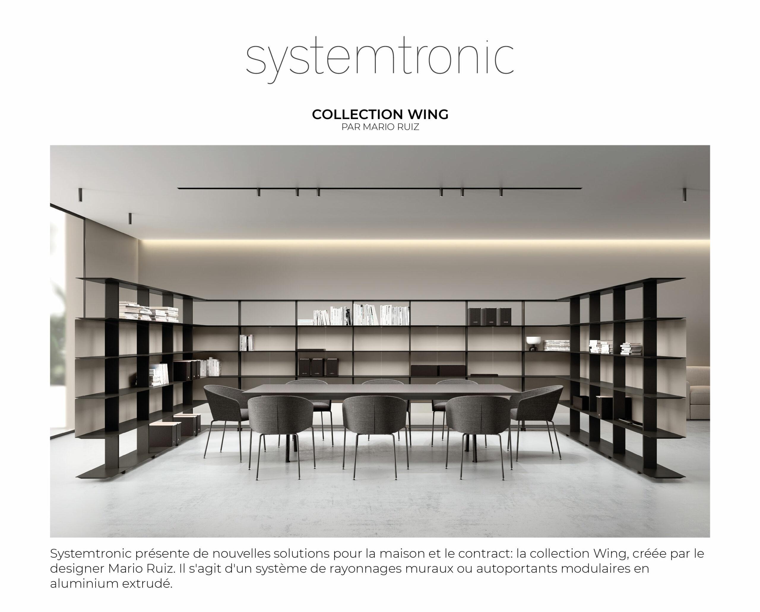 Collection Wing par Mario Ruiz