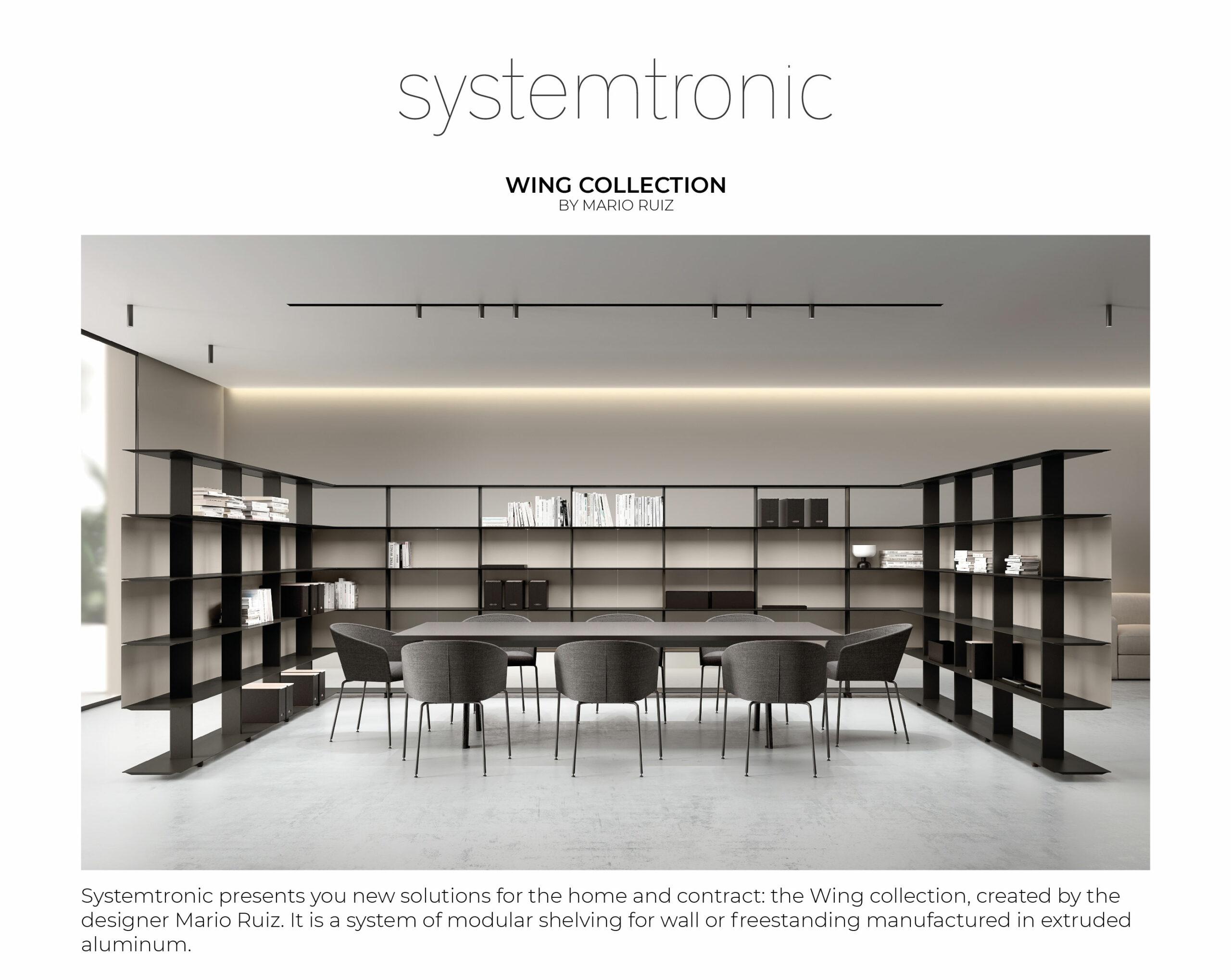 Collection Wing by Mario Ruiz