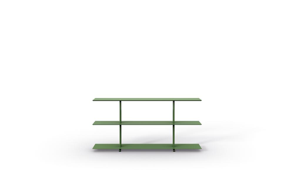 1600 Freestanding Shelves. Sistema de estanterías modulares.