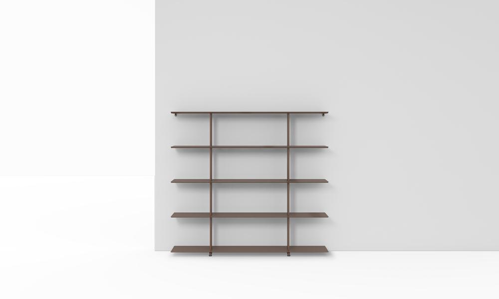 1600 Wall Shelves. Sistema de estanterías modulares.