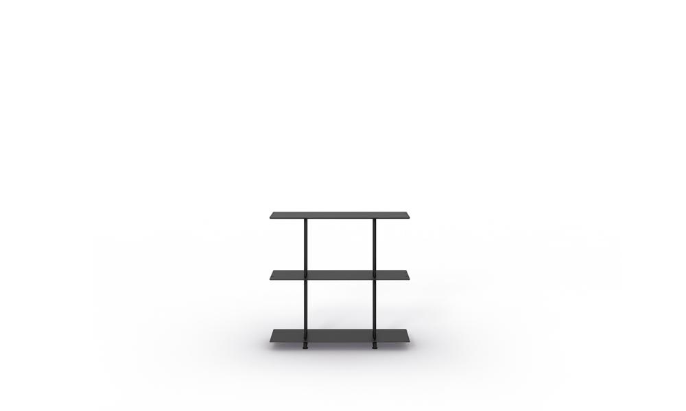 800 Freestanding Shelves. Sistema de estanterías modulares.