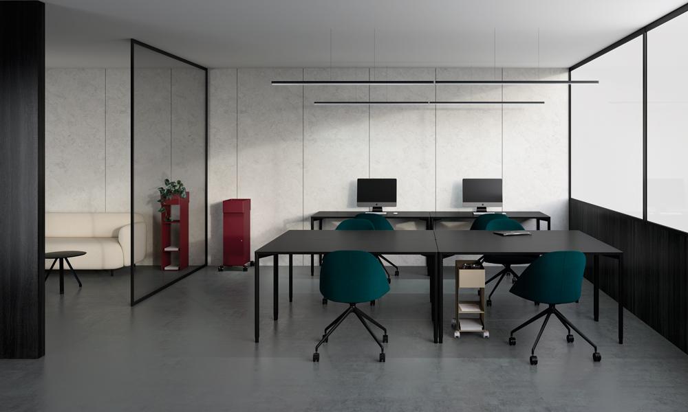Hold Daily. Mueble auxiliar para espacios de trabajo.