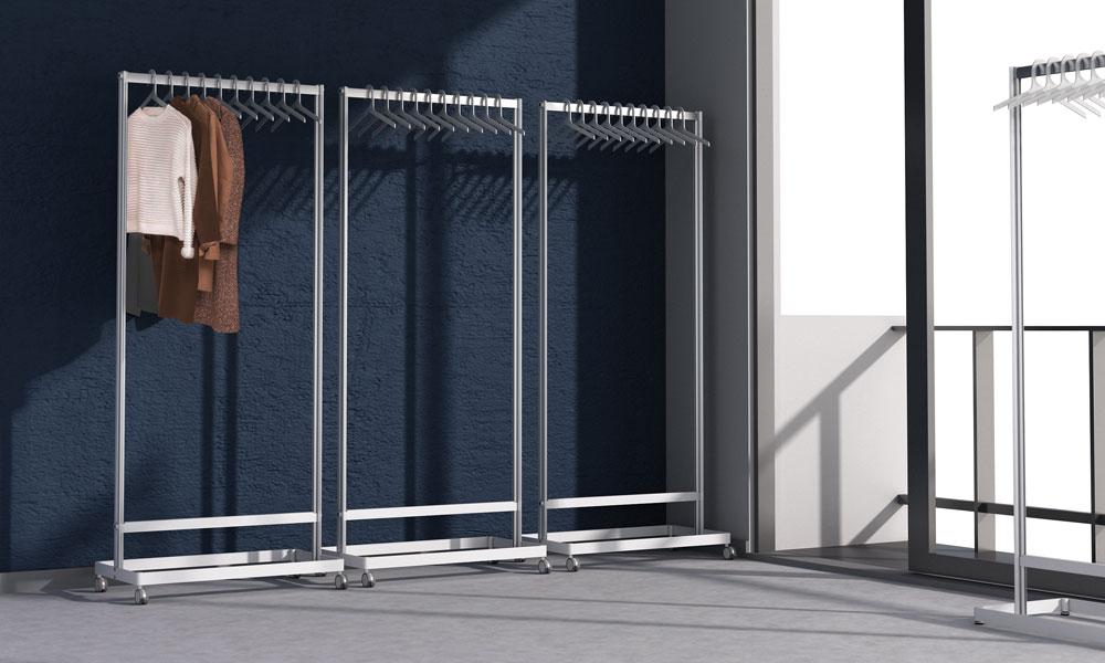 Inlin. Ligereza y estabilidad. Compuesto por dos columnas de aluminio
