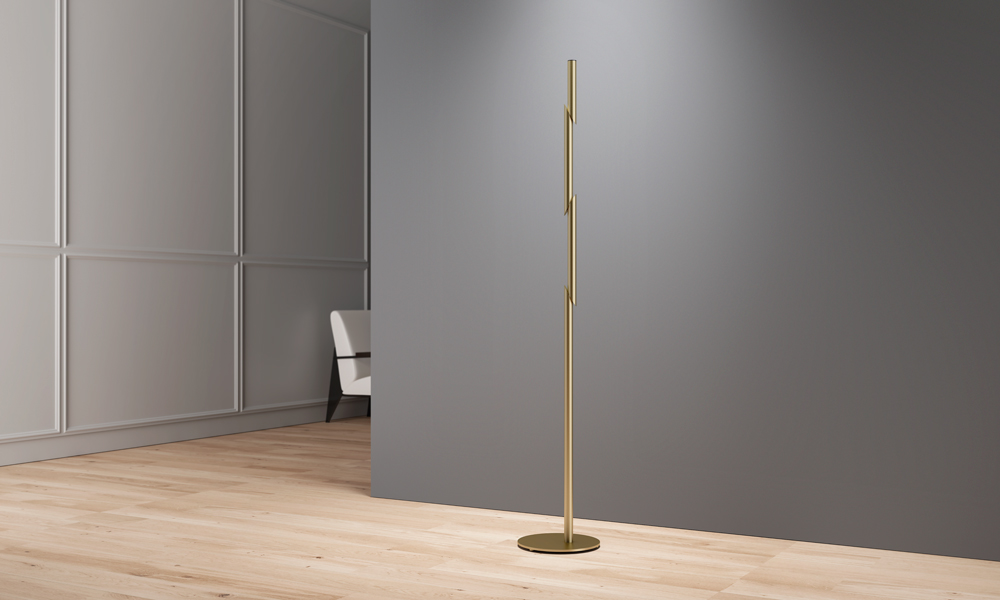 Naname es el perchero que representa el bambú se corta con una espada