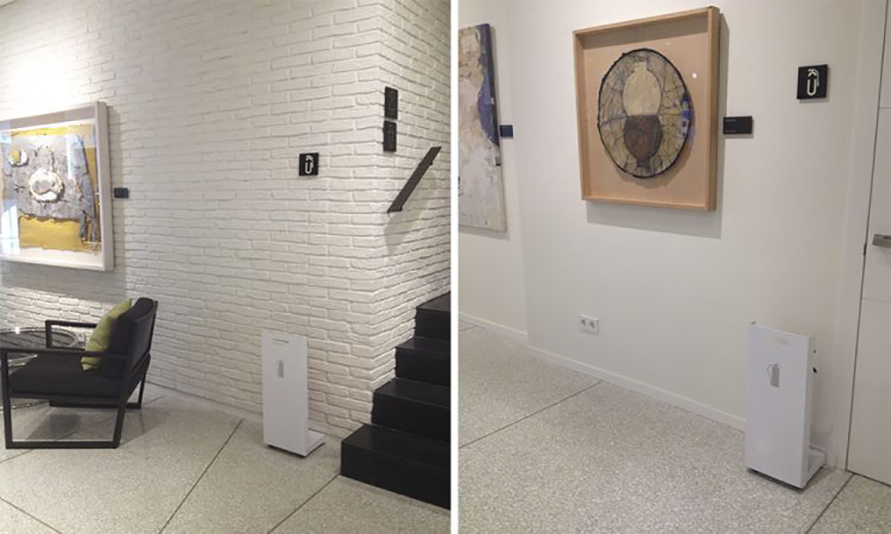 Hotel H10 Art Gallery. Barcelona, España. Proyectos de ST-Systemtronic.