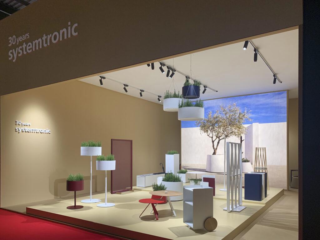Systemtronic en el Salone del Mobile Milano 2019.