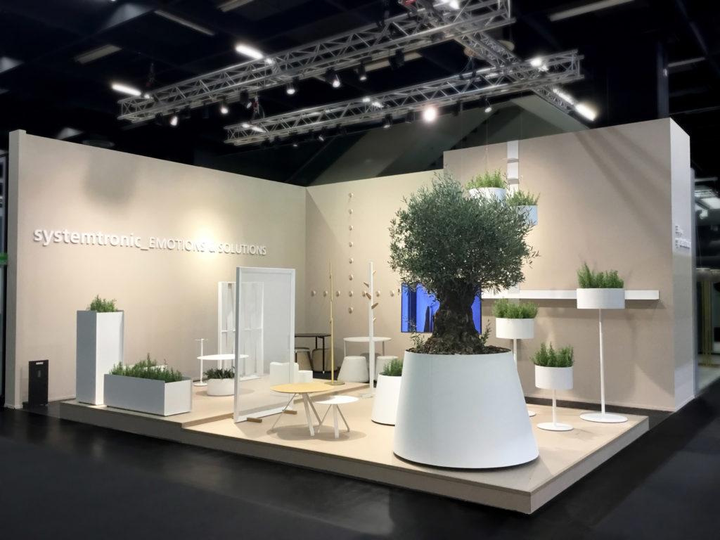 Systemtronic ha participado en la Feria de Orgatec en Colonia.