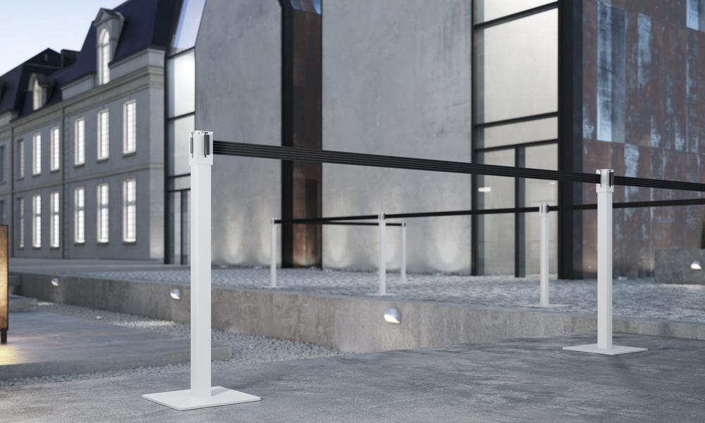 Trec. Colección de postes para delimitar espacios públicos
